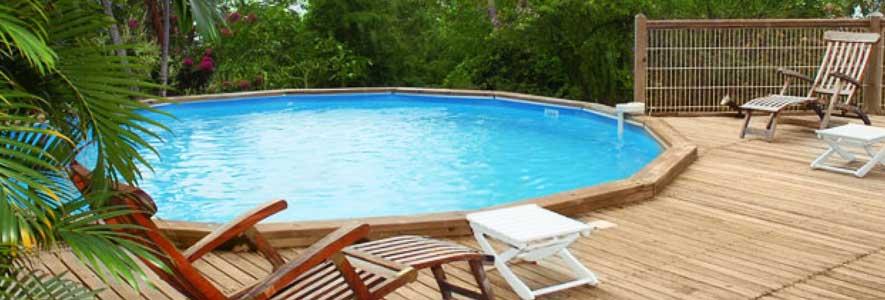 éléments pour un jardin avec piscine