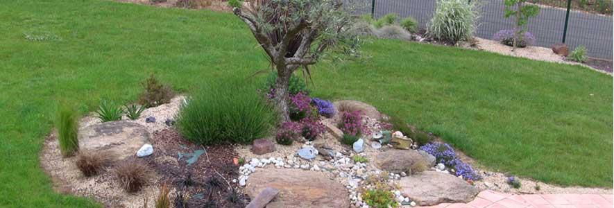 éléments de base dans la déco jardin
