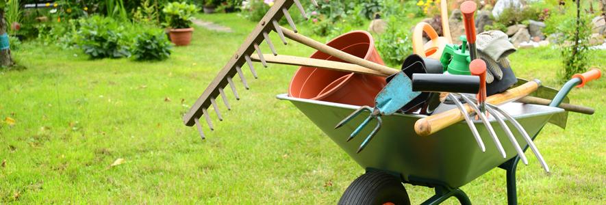 outils entretenir votre jardin