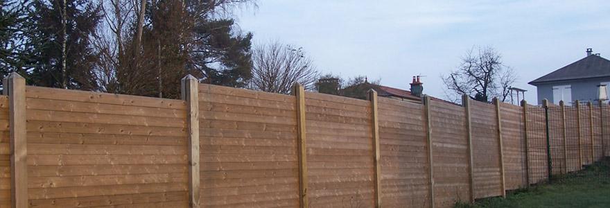 clôture brise-vue