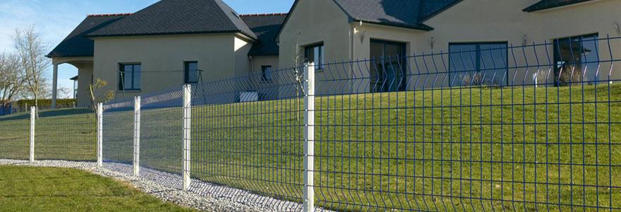 clôture grillage