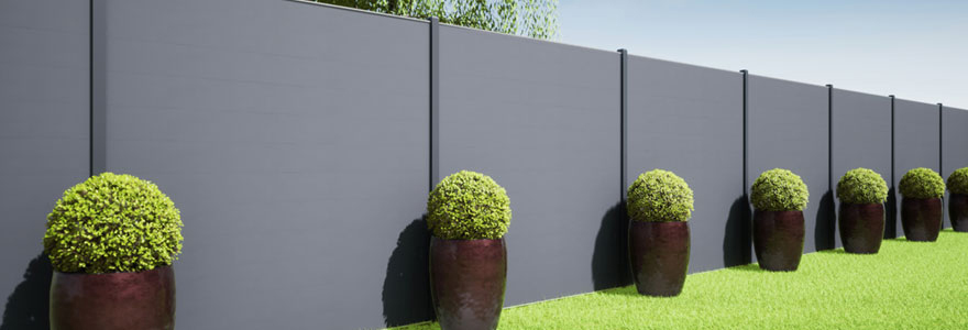 Brise vue décoratif extérieur